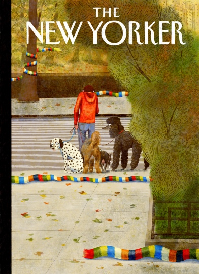 Quand j'imagine ma couverture du New Yorker