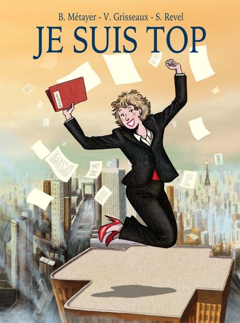 Je suis Top, éditions Delcourt