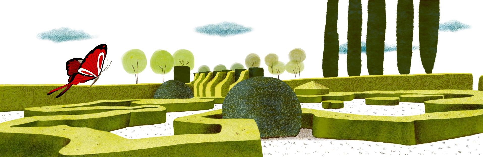 Illustration pour un hors série de Sud Ouest